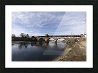 Pavia - Il Ponte coperto Picture Frame print