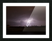 Summer Storm Picture Frame print