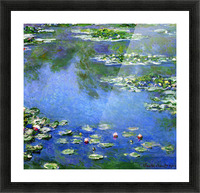 Water Lilies Picture Frame print