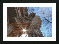 Abandoned Ministers Treehouse Picture Frame print