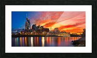 Nashville and General Jackson  Picture Frame print