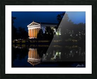 Parthenon in Nashville Picture Frame print