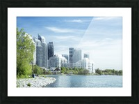 Waterfront Picture Frame print