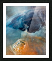 Stars Nursery - Pouponniere detoiles Picture Frame print