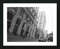 6th & Spring DTLA - B&W Picture Frame print