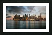 New York City Skyline at Dusk Picture Frame print