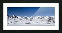 Mountain Range in South Georgia Picture Frame print