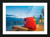 Geelong Waterfront Pre Dawn Picture Frame print