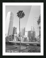 DTLA Palm Tree Picture Frame print
