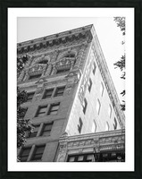 Continental Building DTLA - B&W Picture Frame print