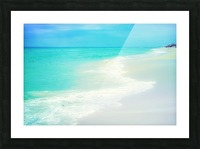 Rosemary Beach Picture Frame print