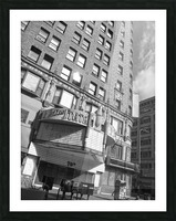 B&W The State Theatre - DTLA Picture Frame print