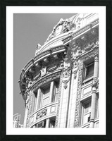 B&W Intricate Details - DTLA Picture Frame print