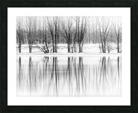 Reflexion Picture Frame print