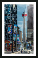 CalgaryTowerCenterSt Picture Frame print