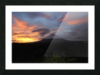 Volcanic Dream Picture Frame print
