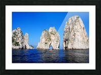 Three Sirens Picture Frame print