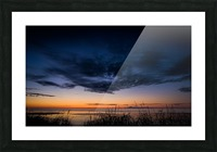 Blue Cloud - Nuage Bleu Picture Frame print