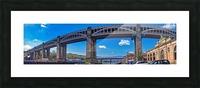Newcastle railway bridge Impression et Cadre photo