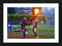 Knight fight Impression et Cadre photo