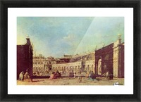 Piazza San Marco a Venezia, dal lato opposto alla basilica Picture Frame print