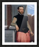 Portrait of Prospero Alessandri Picture Frame print