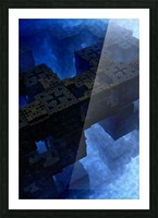 Stones Of Time Fractal Art Picture Frame print
