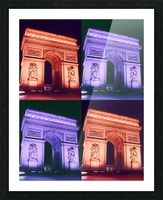 ARC at MIDNIGHT Picture Frame print