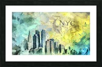 Manhattan Picture Frame print