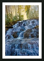 Waterfall in the Woods Picture Frame print