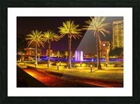 Downtown Palms Picture Frame print