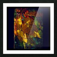 Broken Leaves Picture Frame print