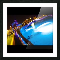 Friendship Fountain Picture Frame print