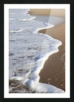 Sea Foam Picture Frame print