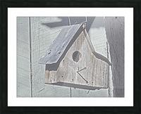 Birdhouse Picture Frame print