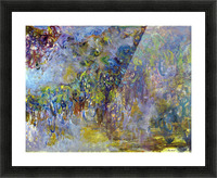 Wisteria -2- by Monet Picture Frame print
