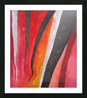 Flames (v)_1526764981.53 Picture Frame print