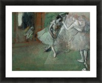 A Group of Dancers Picture Frame print