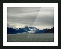 Glacier Picture Frame print