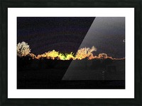 I Dreamed A Sunset Picture Frame print