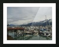 Seward Habor Picture Frame print