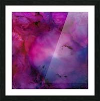 Nebula Picture Frame print