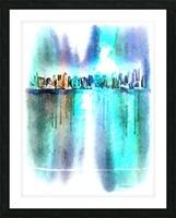Manhattan Picture Frame print