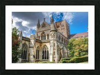 The Cathedral - England Landmarks Picture Frame print