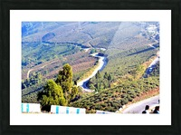 HIMALAYAN ROAD Picture Frame print