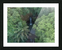 Tibumana waterfall - Bali Picture Frame print