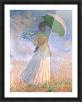 Woman with Parasol Picture Frame print
