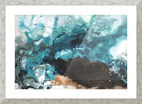 Ocean Glass Picture Frame print