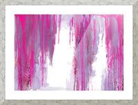 Rainning Picture Frame print