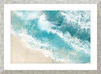 Martinique Picture Frame print